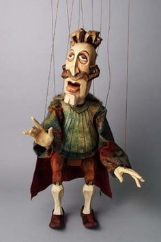 Puppet by Michaela Bartonova (Design) and Antonin Muller (Carve) Puppet Costume, Marionette Puppet, Puppetry Arts, Puppet Show, Shadow Puppets, Fairy Dolls, Classic Toys, Stop Motion, Animation