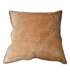 Sasson Home Hide Cushion Blonde