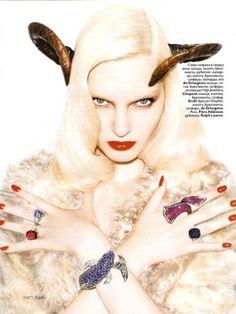 Fail or Win: Vogue Russia Zodiac Shoot | Fashion