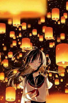 I like her smile brighter like a lanter, I wonder I can smile like that too...