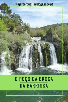 Poço da Broca, Vide, Portugal - waterfall