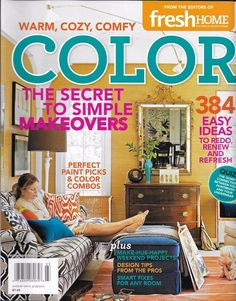 Color Home Magazine Makeovers Paint Combos Weekend Projects Pro Design Tips