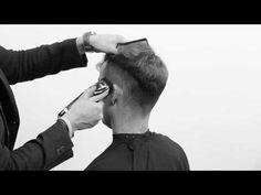 Cutting a Pompadour haircut on curly hair - Pompadour hairstyle - mens haircut - clipper cut - YouTube