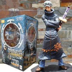 (26.58$)  Know more  - Anime One Piece The Surgeon Of Death Trafalgar Law PVC Action Figure Colletiion Model Japanese Animation Figurine One Piece