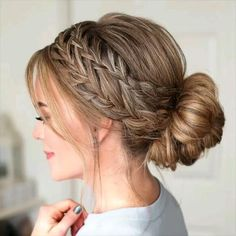 Easy Hairstyles For Medium Hair, Braids For Long Hair, Cool Hairstyles, Halloween Hairstyles, Anime Hairstyles, Hairstyles Videos, Office Hairstyles, Beautiful Hairstyles, Latest Hairstyles