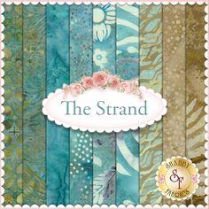 Bali Batiks 2015 The Strand  9 FQ Set by Hoffman Fabrics