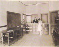 Chief Wells and secretary. 1920's.