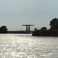 Sailing on the Dutch lakes