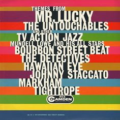 Themes from Mr Lucky - Color and type