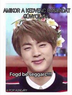 #hungary #bts #memes #jin Hungary, Bts Memes, Seokjin, Haha, Korean, Humor, Random, Funny, Korean Language