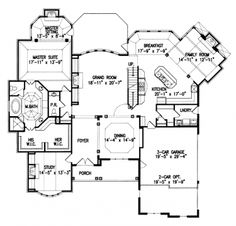 Floor Plan HOME Great Floor Plans Pinterest House Deck