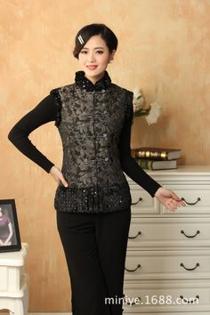 chinese style vintage shop. Chinese Traditional CostumeWinter VestCostumes  ... 22d55e87c621