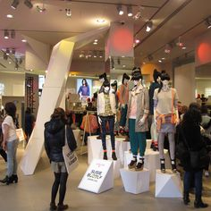 Prop Studios for H&M | Geometric Campaign Windows & In-store VM | #HM…