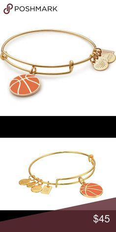 Alex & Ani Team USA Basketball Charm Bangle Alex & Ani Team USA Basketball Charm Bangle Brand New Invented in 1891 by James Naismith in Springfield, Massachusetts, the first basketball game was created as a YMCA class assignment. Agility and skill are necessary, but it's heart and soul that make a champion. With passion, teamwork, and perseverance, sports empower us, proving that anything is possible. Alex and Ani Jewelry Bracelets