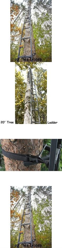 Blind and Tree Stand Accessories 177912: 20 Tree Ladder Deer Outdoor Bow Hunting Climbing Stick Treestand Crossbow New -> BUY IT NOW ONLY: $62.99 on eBay!