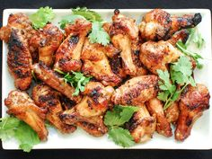 Grilled Spicy Chicken Wings With Soy and Fish Sauce Recipe   Serious Eats