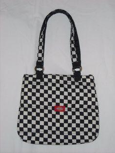 Dickies Black and White Checker Print Purse by VampireVixen13 on eBay - http://www.ebay.com/usr/vampirevixen13