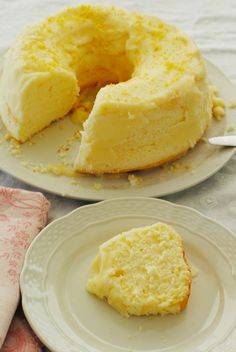 chiffon cake sin gluten Chiffon Cake, Cheesecake, Food And Drink, Gluten Free, Nutrition, Desserts, Relleno, Gastronomia, Gluten Free Sweets