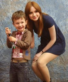 Adorable Doctor Who cosplay