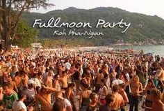 Full moon party -Thailand