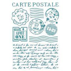 Mascherina Stencil G 7 cm Carte postale Stamperia Stencils, Stencil Art, Letter Patterns, Stencil Patterns, Chevron Tile, Homemade Books, Shabby Vintage, Shabby Chic, Puff Paint