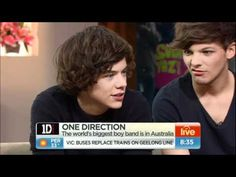 One Direction full interview Sydney, Australia April 2012. lol @ Louis's face