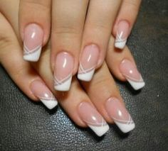 French Nails Nude Quadratisch Spitze Weis Dreieckig Lang Elegant Brautnagel Ring French Nails Nude Quadratisch Spitze Weis Dreieckig Lang Elegant Brautnagel Ring More from my site Rings and nude nails French Nails, French Manicure Nails, French Manicure Designs, Nude Nails, White Nails, Nail Art Designs, My Nails, Acrylic Nails, Nail Gel