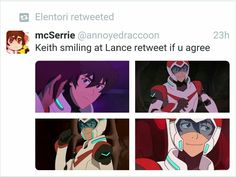 keith doesn't smile often, but when he does,,,,it's at lance