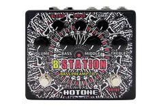 Hotone B Station Bass Preamp DI Box Effects Pedal