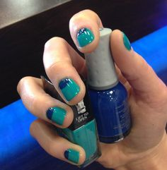 Blue Nail Design – Electric Blue: Blue Nail Design  Hipsterwall ~ hipsterwall.com Nails Inspiration