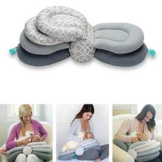 Multifunktionales Stillkissen Multifunctional Nursing Pillow This multifunctional nursing pillow relieves your shoulder while breastfeeding your child.Three adjustable heights allow you to opti # Baby Feeding Pillow, Breastfeeding Pillow, Breastfeeding Tips, Baby Growth, Nursing Pillow, Baby Pillows, Baby Sofa, Baby Kind, 2 Baby