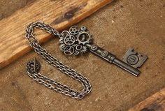 Steampunk Skeleton Key