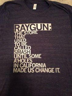 Raygun A-holes shirt (Custom Color)