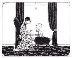 Edward Gorey's Donald Illustrations | Brain Pickings
