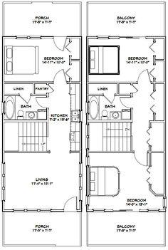 House Plan for 28 Feet by 32 Feet plot (Plot Size 100