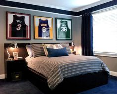 Tween & Teen Boys Room Decorating Ideas - for C one day. I will cry the day I take down the Toy Story and space decorations