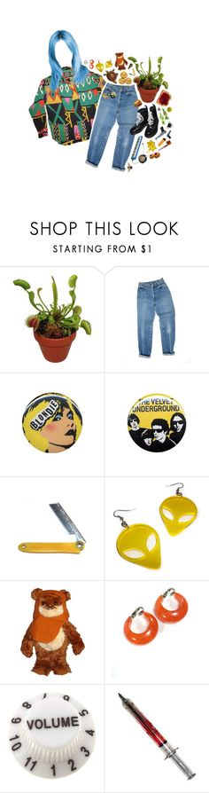 """""""milk eyed"""" by s8tan ❤ liked on Polyvore featuring Levi's, Dr. Martens, Ultimate, Retrò, mark., Transparente and Fountain"""