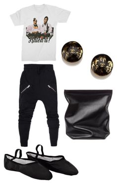 """sweats"" by michelle858 ❤ liked on Polyvore featuring Chanel and Jil Sander"