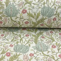 Cotton Fabric Arts and Crafts Cotton Curtains, Lined Curtains, Curtains With Blinds, Curtain Fabric, Cotton Fabric, Floral Print Fabric, Fabric Art, Floral Prints, Blackout Curtain Lining