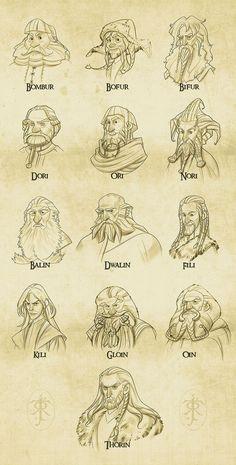 Awesome The Hobbit Fan Art - Lord of the Rings / Hobbit - Legolas, Kili, Gandalf, Thorin Oakenshield, Bilbo Baggins, Tauriel, Jrr Tolkien, Art Hobbit, Fan Art