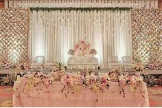 Wedding Indian Reception Draping New Ideas Wedding Reception Backdrop, Wedding Stage Decorations, Wedding Themes, Wedding Designs, Wedding Table, Wedding Venues, Indian Reception, Reception Ideas, Wedding Dresses