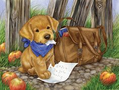 """""""The Dog Ate My Homework"""" by Jane Maday"""