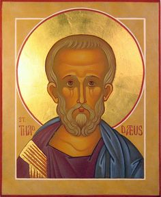 Holy Apostle Thaddaeus by A Whistling Train, via Flickr