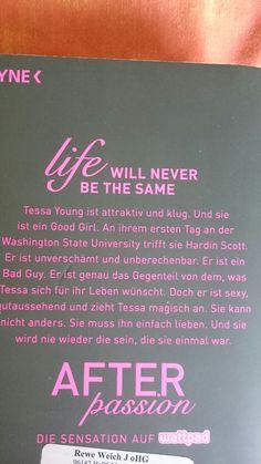 Lieblingsroman (1) meiner besten Freundin - life will never be the same 😇