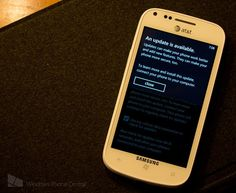 Windows Phone Tango brings numerous small fixes to the OS via AT