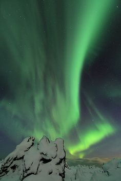 Northern lights by olgeir, via Flickr