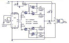 Low cost 100W inverter