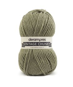Deramores Vintage Chunky - Sage (003)   Deramores