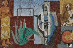 Alessandria: il mosaico di Gino Severini (Palazzo della Posta)