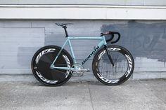 Bianchi Track Bike.